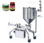 DT-01牛肉酱灌装机 玻璃瓶装 效率高 精度高不滴漏 带搅拌