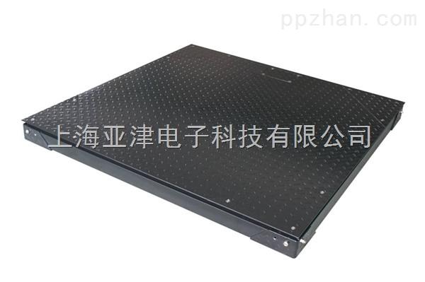 上海双层电子地磅化工车间推车搬运3吨电子地磅