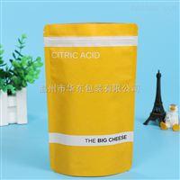 厂家直销彩色防油食品包装袋 自立自封开窗牛皮纸袋可印logo