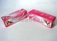 300克白卡纸饼干彩盒 食品包装纸盒  上海彩印公司