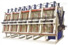 MH系列双面油压拼板机